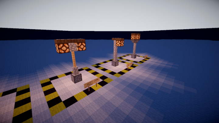 how to make a street lamp in minecraft