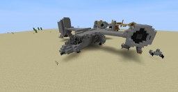 Black Ops II VTOL & VTOL Warship (new) Minecraft Project
