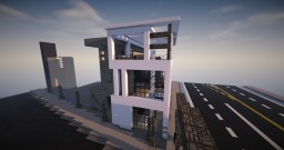 Concept || Modern Townhouse || CW Minecraft Map & Project