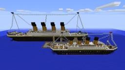 Titanic V.1 & V.2 In Southampton Minecraft