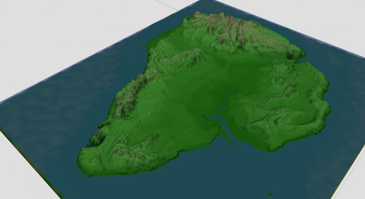 3D look via worldmachine2