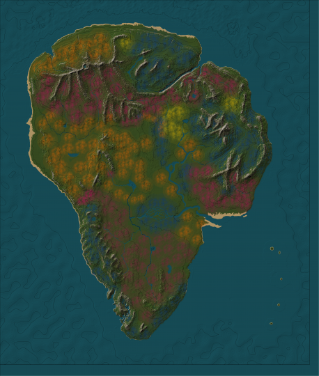 The flora layer in worldpainter. dont know anymore what plants are where xD