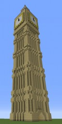 Big Ben Clock Tower Minecraft Map & Project