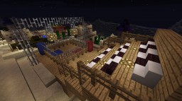 Boxing Ring and small grandstand Minecraft Map & Project