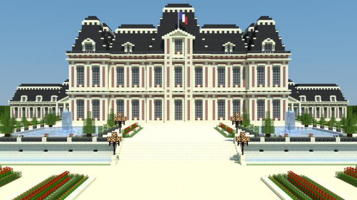 Ch teau de rosbourg minecraft project - Chateau de minecraft ...