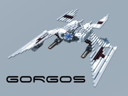 Gorgos - Heavy Starfighter Minecraft Map & Project