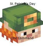 St. Patrick's Day One Command Minecraft Project