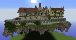 Floating island mansion Minecraft Map & Project