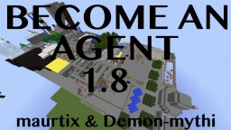 Become an Agent v1.1 (1.8) Minecraft Map & Project