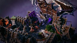 Steampunk Airship Town Minecraft Project