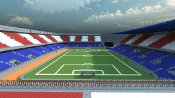 Estadio Vicente Calderon 1:1 ( Atletico de Madrid stadium ) Minecraft Map & Project