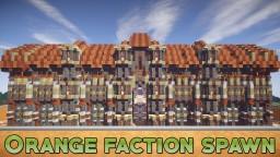 Orange Faction Spawn + PvP Arena + Shop [1.7 - 1.14] Minecraft Map & Project