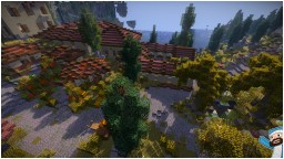 Roman Bathhouse & Poor Houses Minecraft