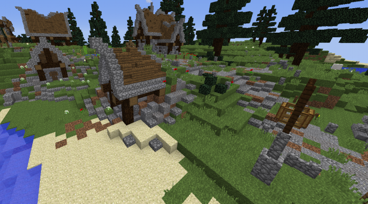 My New Style- Small Hut Minecraft Project