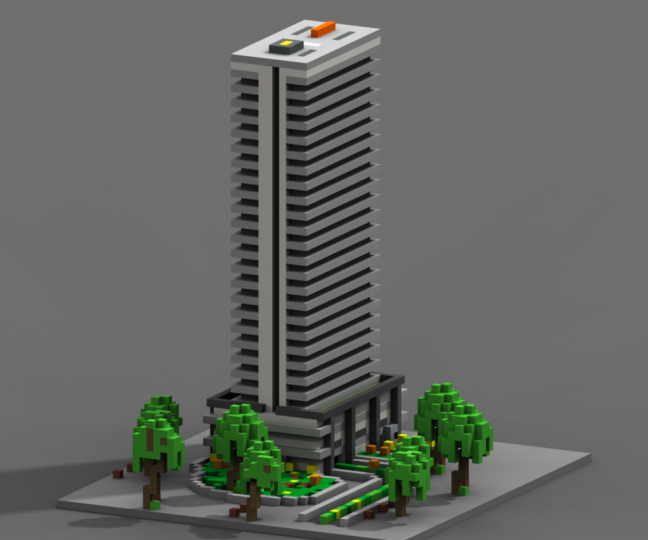 Eclipse Tower Apartments Minecraft Project