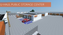 Port Ray Builds | U-Haul + Public Storage! [v2] | DETAILED INTERIOR/EXTERIOR! Minecraft Project