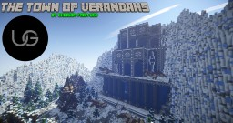Medieval/Nordic | Cinematic: The Town of Verandahs by Chingom Minecraft Map & Project
