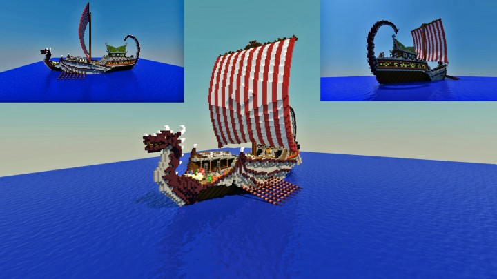 Update  - New Viking boat