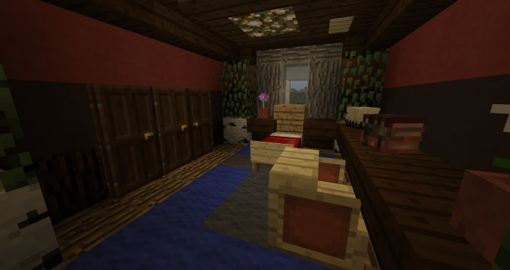 The second guest room.