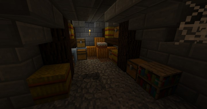 The food storage.