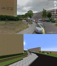 Jastrzębie - Zdrój (Real Sized CIty) Minecraft Project