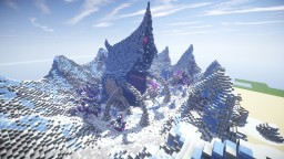 Jötnar Trädgård - The frozen maze Minecraft Project
