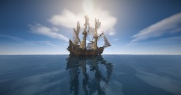 Two Fantasy Ships Minecraft