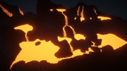 random volcano map Minecraft Map & Project