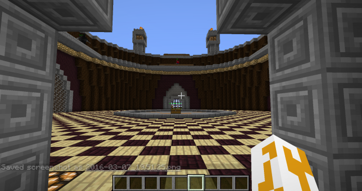 The Inside of the Arena