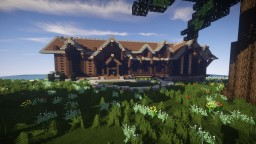 Mountain Beach House WIP Minecraft