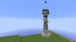 Futuristic Tower Minecraft Map & Project