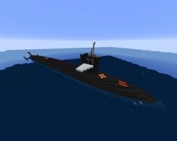 SSBN ballistic missile submarine Minecraft
