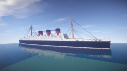 RMS Queen Mary + download Minecraft Map & Project
