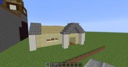 Sandstone Starter House Minecraft Project