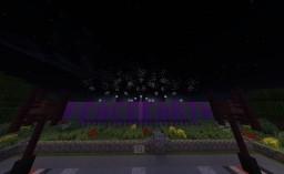 Command Block Firework Show - Peace on Earth Finale Tag Minecraft Project