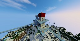 Frost lands rollercoaster Minecraft Project