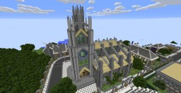 The Great Chapel of Julianos - Oblivion Minecraft Project