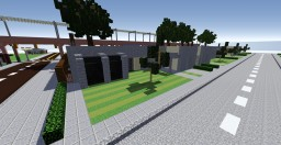 modern bungalow Minecraft Project