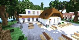 Restaurand in a park Minecraft Project