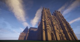 York Minster (Exact Replica) Minecraft Map & Project