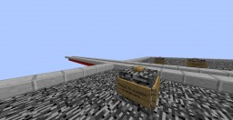A virtually endless rollercoaster Minecraft Project
