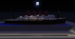 R.M.S Silveria (based on the R.M.S Lusitania) Minecraft Project