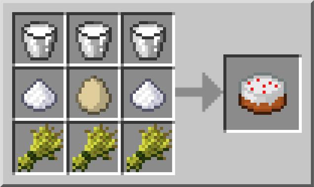 How Do U Make A Cake In Minecraft Pc