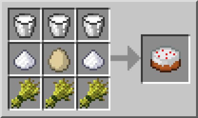 How to bake a cake in Minecraft PC a tutorial for noobs Minecraft Blog