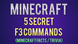 Minecraft | 5 Secret F3 Commands You Might Not Know About! (Minecraft Facts / Trivia) Minecraft Blog
