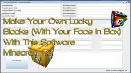 Lucky Block Command Creator - thvardhan Minecraft 1.9 V1.1 Minecraft