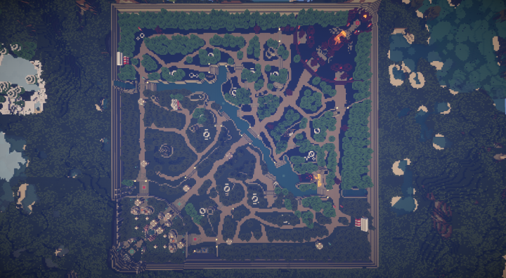 dota 2 minecraft map minecraft project