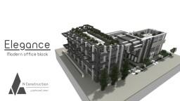 Elegance   Modern office complex Minecraft Map & Project