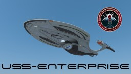USS Enterprise NCC 1701-F (including Chevron/Saucer separation) Minecraft