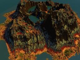 Caldera Volcano Minecraft Project
